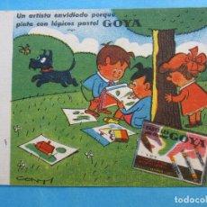 Coleccionismo Papel secante: SECANTE GOYA , CONTI. Lote 71996971