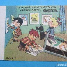 Coleccionismo Papel secante: SECANTE GOYA , CONTI. Lote 71997239