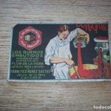 Coleccionismo Papel secante: RARO PAPEL SECANTE PUBLICIDAD PIMENTÓN FLOR DE LA VERA. Lote 77765645