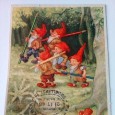 Coleccionismo Papel secante: PELIKAN,DE LOS ENANITOS. Lote 77897493