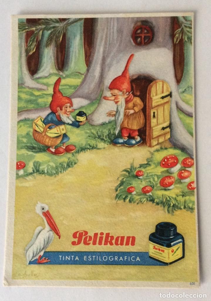 Coleccionismo Papel secante: FOS SECANTE PELIKAN. 631, 632. - Foto 4 - 81607624