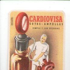Coleccionismo Papel secante: PAPEL SECANTE, PUBLICIDAD FARMACIA, CARDIOVISA. Lote 85310848