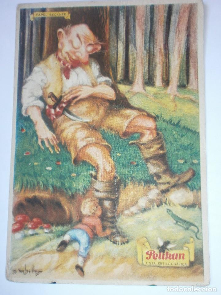 PAPEL SECANTE PELIKAN 632 (Coleccionismo - Papel Secante)