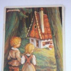 Coleccionismo Papel secante: PAPEL SECANTE PELIKAN LA CASITA DE CHOCOLATE. Lote 89512244