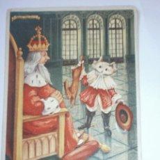 Coleccionismo Papel secante: PAPEL SECANTE PELIKAN EL GATO CON BOTAS. Lote 89512360