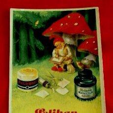 Coleccionismo Papel secante: ANTIGUO PAPEL SECANTE DE TINTA ESTILOGRAFICA DE PRODUCTOS PELIKAN Nº 1921 R. Lote 90226400