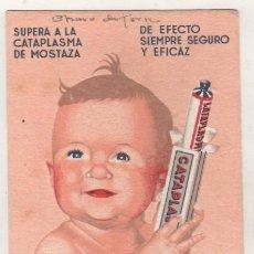 Coleccionismo Papel secante: SECANTE CON PUBLICIDAD DE FARMACIA. CATAPLASMIL. VADERRAMA. BILBAO. . Lote 95119835