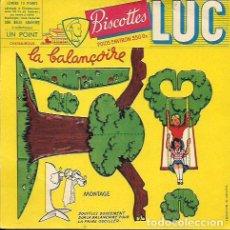 Coleccionismo Papel secante: SECANTE CON RECORTABLE * BISCOTTES LUC -EL COLUMPIO * ( BUVARD ). Lote 95831871
