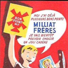 Coleccionismo Papel secante: SECANTE * PATES MILLIAT FRÈRES * ( BUVARD ). Lote 95832635