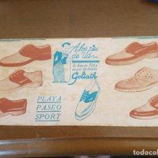 Coleccionismo Papel secante: CUBA PAPEL SECANTE GOLIATH. Lote 96005811