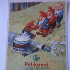 Coleccionismo Papel secante: PAPEL SECANTE PELIKAN 921 CON SELLO PAPELERIA ELITE DE BARCELONA. Lote 97307063