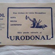 Coleccionismo Papel secante: PAPEL SECANTE, MEDICINA URODONAL-JUBOL-JUBOLITOIRES. . Lote 98036563