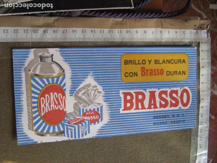 PAPEL SECANTE PUBLICIDAD DE BRASSO - BILBAO - DEUSTO (Coleccionismo - Papel Secante)