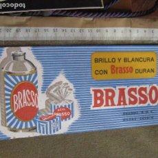 Coleccionismo Papel secante: PAPEL SECANTE PUBLICIDAD DE BRASSO - BILBAO - DEUSTO. Lote 102627039