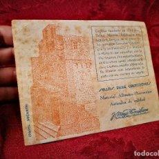 Coleccionismo Papel secante: PAPEL SECANTE PUBLICIDAD TIENDA FILATÉLICA J. MAJÓ TOCABENS. BARCELONA. AÑOS 20-30. Lote 104978251