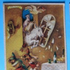 Coleccionismo Papel secante: PAPEL SECANTE PELIKAN. TINTA ESTILOGRÁFICA. LOS MÚSICOS DE BREMEN. 633.. Lote 105832351