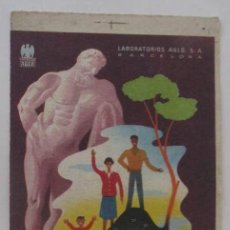 Coleccionismo Papel secante: AGLOVIT-CALCICO - SECANTE PUBLICIDAD DE FARMACIA DE LABORATORIOS AGLO, S.A.. Lote 106069659