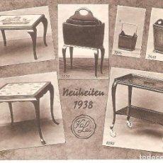Coleccionismo Papel secante: PAPEL SECANTE, PUBLICIDAD, NEUHEITEN, MOBILIARIO DOMESTICO, SIN USAR. Lote 109401843