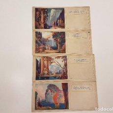 Coleccionismo Papel secante: COLECCIÓN LOTE 23 PAPELES SECANTES. Lote 112456683