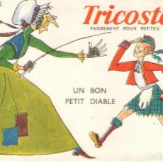 Coleccionismo Papel secante: SECANTE - TRICOSTERIL - UN BON PETIT DIABLE - BUVARD Nº 5 . Lote 115176611