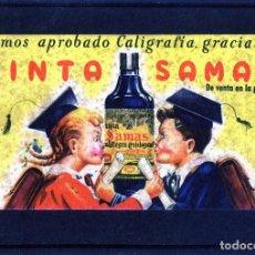 Coleccionismo Papel secante: PAPEL SECANTE=PUBLICIDAD TINTA SAMAS= .. Lote 115359139