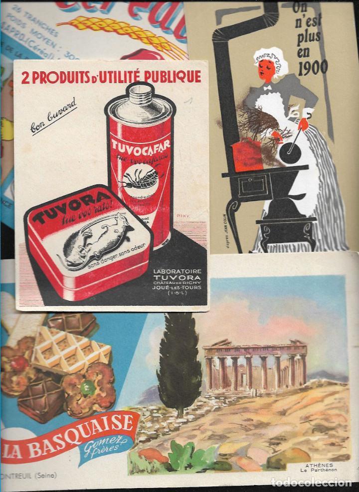 Coleccionismo Papel secante: LOTE 50 SECANTES DIFERENTES ( lote nº 2 ) - Foto 2 - 116155331