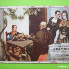 Coleccionismo Papel secante: ANTIGUO PAPEL SECANTE. SOCIEDAD ANÓNIMA AZADÓN. MADRID. Lote 119440307