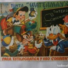 Coleccionismo Papel secante: PAPEL SECANTE WATERMAN'S USADO. Lote 119881083