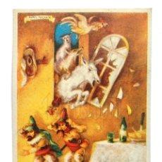 Coleccionismo Papel secante: PAPEL SECANTE CON PUBLICIDAD DE TINTA ESTILOGRAFICA PELIKAN 633 (SECANTES) LOS MUSICOS DE BREMEN. Lote 127872951