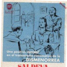 Coleccionismo Papel secante: PAPEL SECANTE, PUBLICIDAD. Lote 128362451