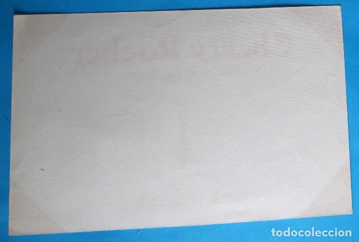 Coleccionismo Papel secante: PAPEL SECANTE. CHERRY ROCHER. GRANDE LIQUEUR. TAMPÓN DE HOTEL DU LUXEMBURG. - Foto 2 - 131342670