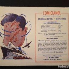 Coleccionismo Papel secante: COMICIANOL MADRID PAPEL SECANTE. Lote 132756462