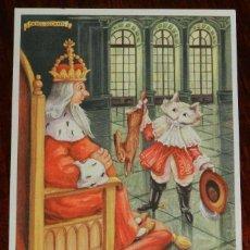 Coleccionismo Papel secante: ANTIGUO SECANTE DE PELIKAN - GATO CON BOTAS - N. 1633 BCL.. Lote 133602910