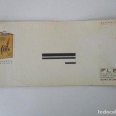 Coleccionismo Papel secante: PAPEL SECANTE - ACEITE VEGETAL, PARA CORREAS - FLEX - AÑOS 30. Lote 135297486