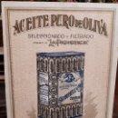 Coleccionismo Papel secante: PAPEL SECANTE CARBONELL. ACEITE PURO DE OLIVA. SEVILLA. MARCA LA PROVIDENCIA.. Lote 135821686