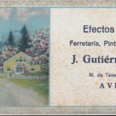 Coleccionismo Papel secante: PAPEL SECANTE. EFECTOS NAVALES J. GUTIÉRREZ TRAPA. AVILÉS. ASTURIAS. Lote 137802450