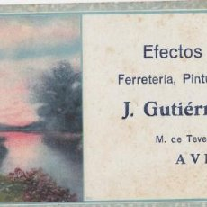 Coleccionismo Papel secante: PAPEL SECANTE. EFECTOS NAVALES J. GUTIÉRREZ TRAPA. AVILÉS. ASTURIAS. Lote 137802646