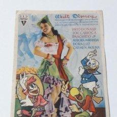 Coleccionismo Papel secante: ANTIGUO SECANTE PUBLICIDAD WALT DISNEY GRAN TEATRO FALLA CADIZ. Lote 139481558