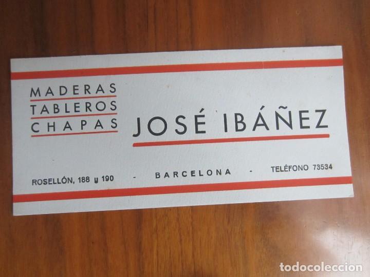PAPEL SECANTE-JOSE IBAÑEZ- MUY BUENO (Coleccionismo - Papel Secante)
