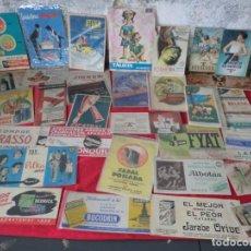 Coleccionismo Papel secante: COLECCION DE SECANTES ,LA MAYORIA DE PRODUCTOS FARMACEUTICOS. Lote 142481722