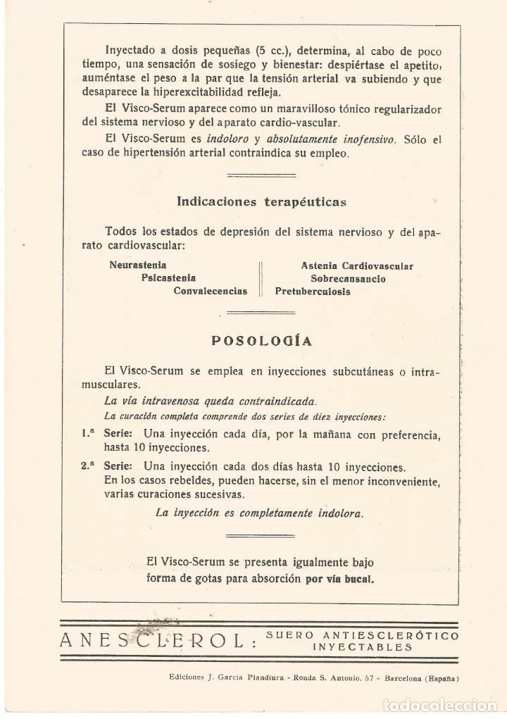 Coleccionismo Papel secante: Papel Secante CARICATURA FIGURA MEDICO FARMACIA ORIGINAL 1932 DR D. J. GIMENO SANCHO VALENCIA - Foto 2 - 145804406