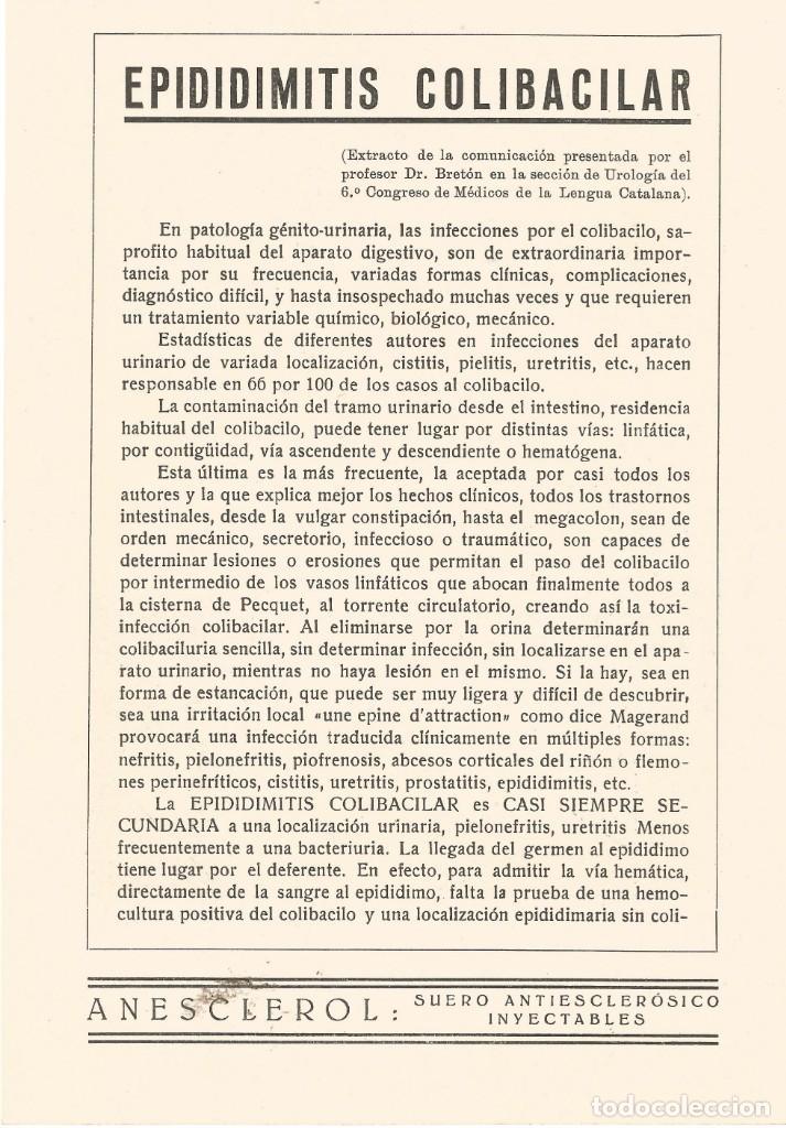 Coleccionismo Papel secante: Secante CARICATURA FIGURA MEDICO FARMACIA ORIGINAL 1932 DR. MISAEL BAÑUELOS GARCIA DE VALLADOLID - Foto 2 - 145804714