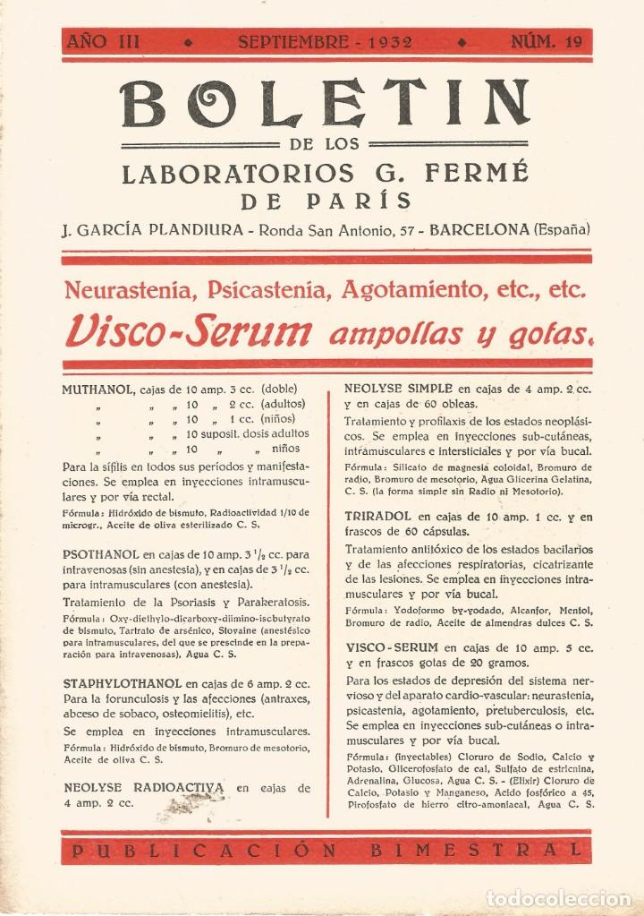 Coleccionismo Papel secante: SECANTE GALERIA FIGURAS MEDICAS CARICATURA 1932 DR CARREL CIRUJANO DEL INT ROCKFELLER NEW YORK - Foto 2 - 145850018