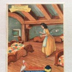 Coleccionismo Papel secante: SECANTE PELIKAN. NÚMERO 624/3. BLANCANIEVES. BLASCO REQUENA. VALENCIA.. Lote 155451454