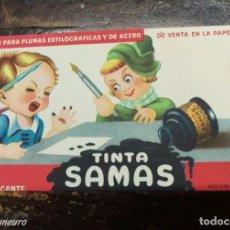 Coleccionismo Papel secante: SECANTE - TINTA SAMAS 216D. Lote 156541662