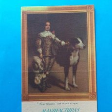 Coleccionismo Papel secante: PAPEL SECANTE PUBLICIDAD MANUFACTURAS RABANAL S.A. ARTÍCULOS DE PUNTO. MADRID. Lote 158160698