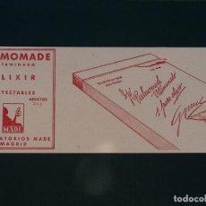 Coleccionismo Papel secante: SECANTE PUBLICITARIO PULMONADE ,LABORATORIOS MADE ,MADRID. Lote 161817390