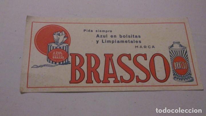 BRASSO, PAPEL SECANTE (Coleccionismo - Papel Secante)