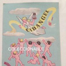 Coleccionismo Papel secante: RARA PUBLICIDAD LABORATORIOS CIDAN BENICARLO 1957 // POP ART ESPAÑOL PAPEL SECANTE BEBES VINTAGE. Lote 163490190