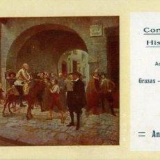 Coleccionismo Papel secante: ALCOY. SECANTE DE ANDRÉS ROSELLÓ, DEPOSITANTE DE LA CÍA. PETROLÍFERA HISPANO AMERICANA.. Lote 166629266